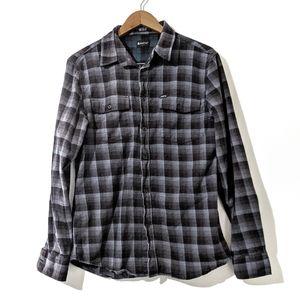 Men's Matix Plaid Flannel Shirt Size Medium